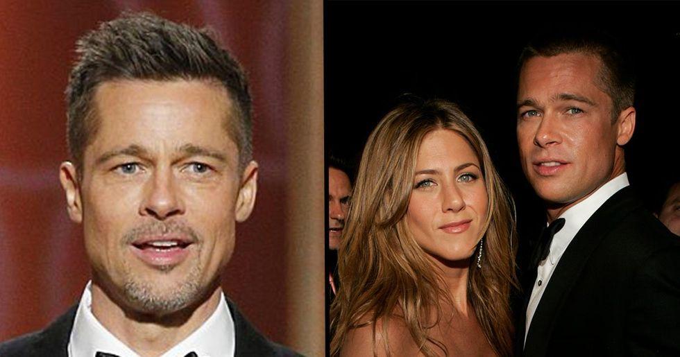 Brad Pitt Turned up to Jennifer Aniston's 50th Birthday Party