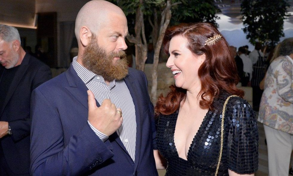 Here's Why Nick Offerman and Megan Mullally Are The Best Celebrity Couple