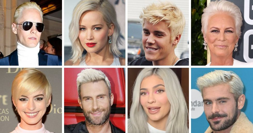 Celebs Who Are Almost Unrecognizable With Platinum Blonde Hair