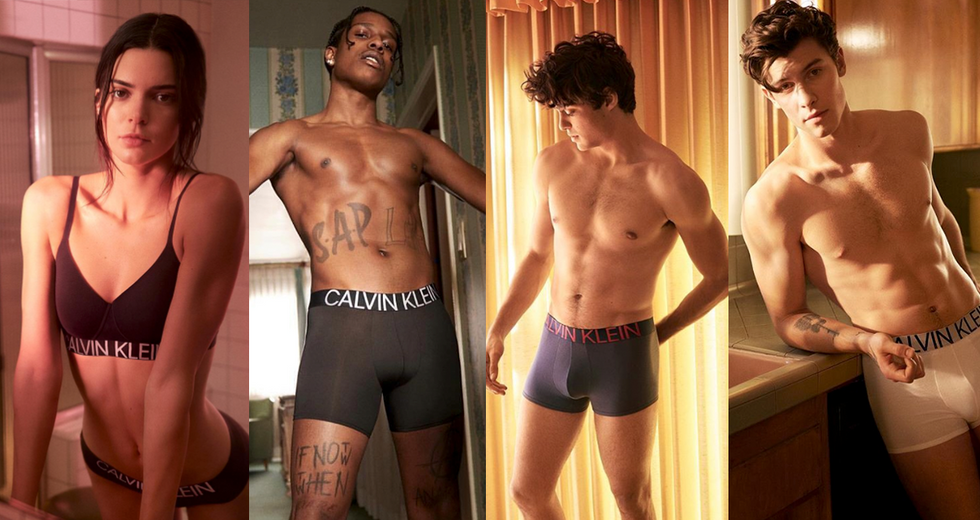 New Calvin Klein Campaign With Kendall Jenner, Noah Centineo, and Shawn Mendes Has Us Sweating
