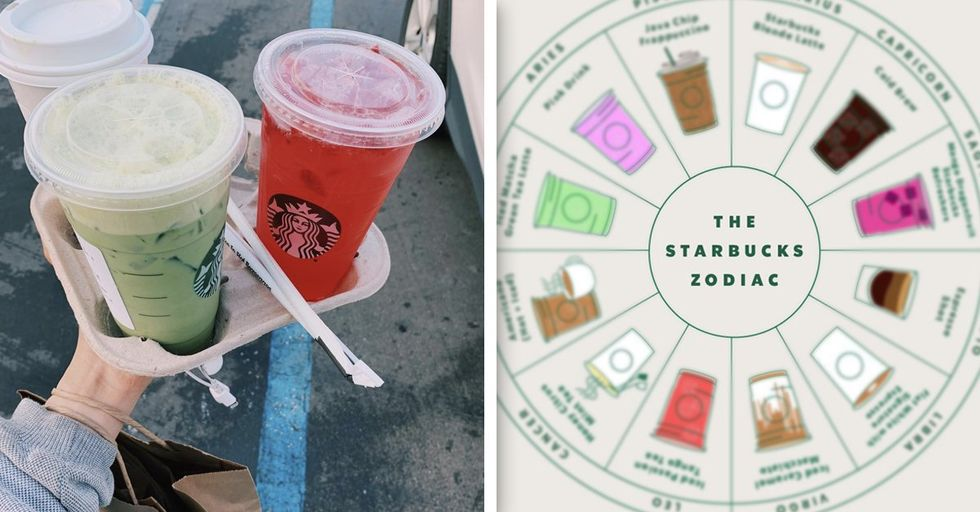 Starbucks Assigned Each Zodiac Sign a Drink and It's Scary Accurate