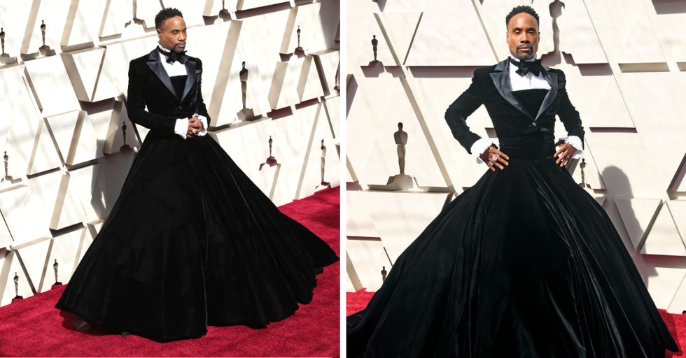 This Is Why Billy Porter Wore a Gown Instead of a Tux to the Oscars