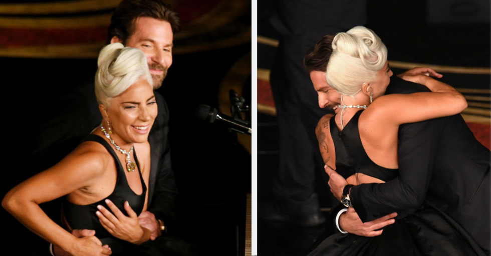 Bradley Cooper and Lady Gaga Looked Deep in Love While Singing 'Shallow' During the Oscars