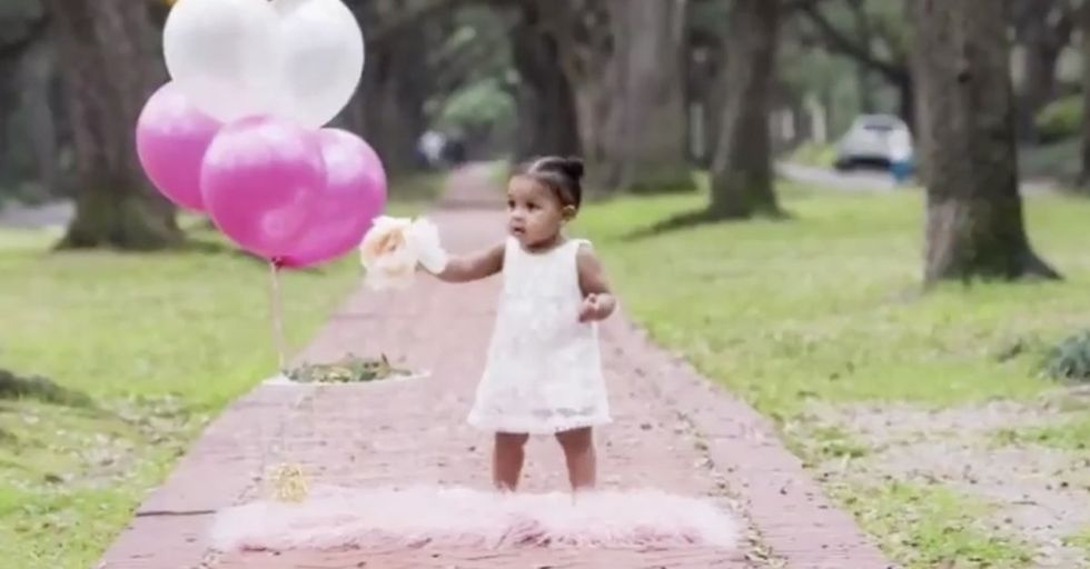 Woman Accosts Parents on Sidewalk During Their Baby's First Photo Shoot