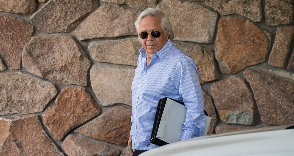 New England Patriots Owner Busted For Prostitution Ring