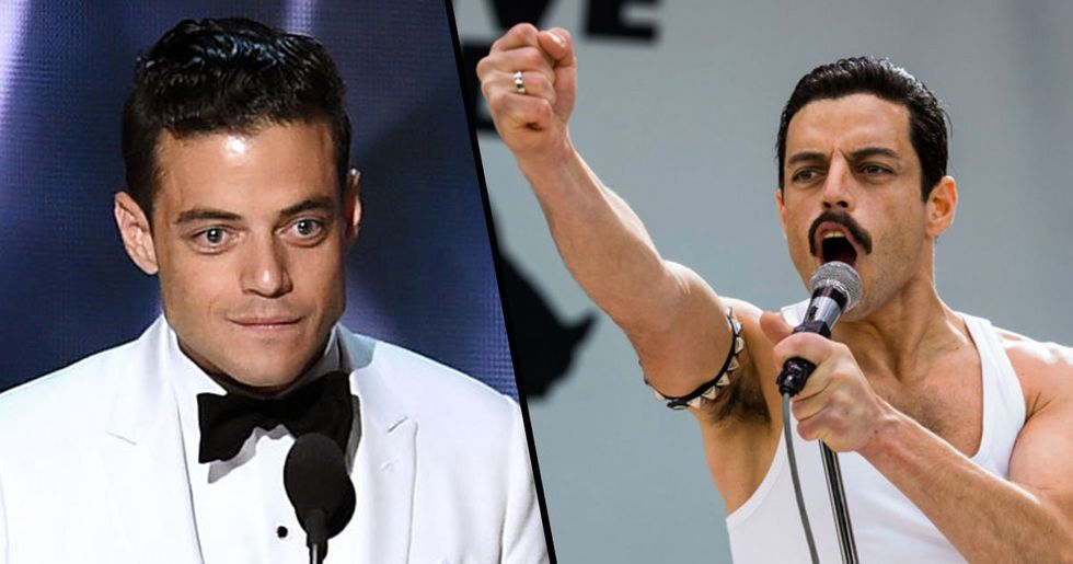 Rami Malek Just Won Best Actor at The Oscars for Playing Freddie Mercury