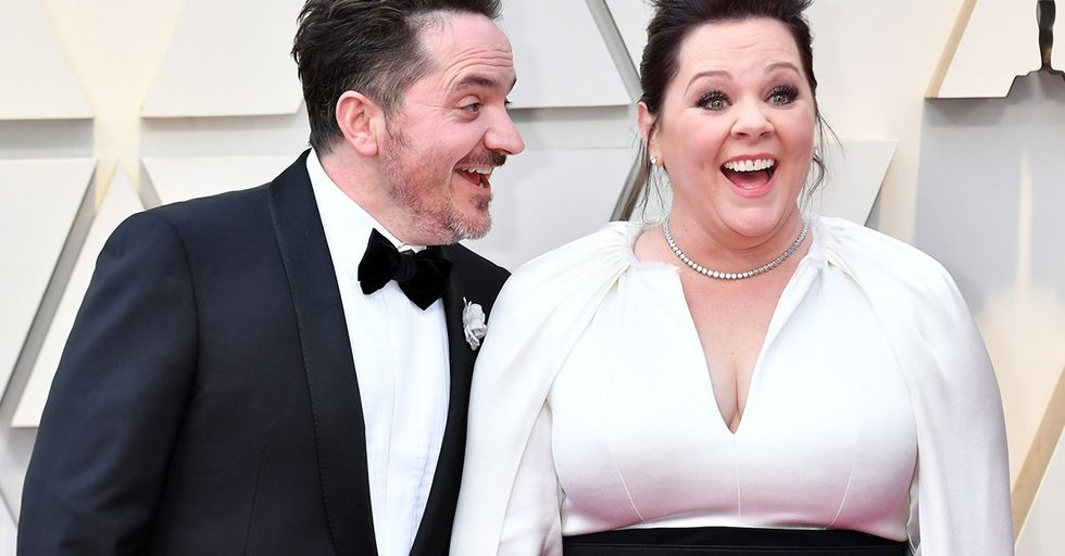 Melissa McCarthy and Ben Falcone Wore Matching Tracksuits to the Vanity Fair Oscar Party