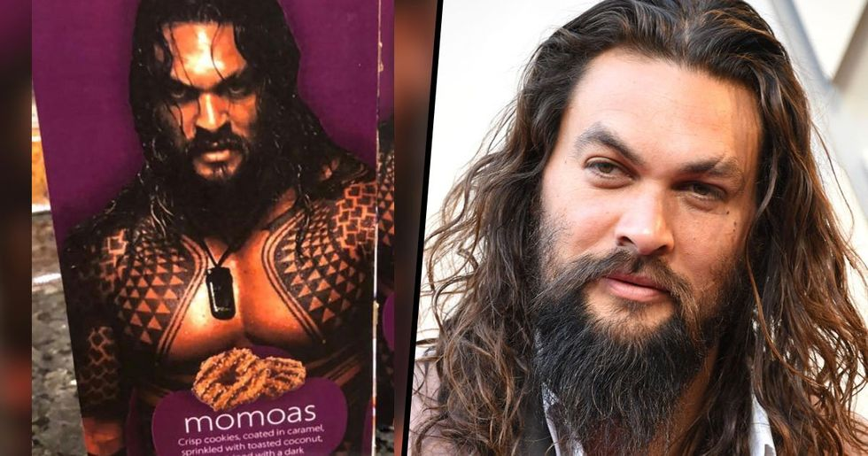 Jason Momoa's Response to Girl Scout Selling Cookies Using Topless Photo of Him Is Perfect