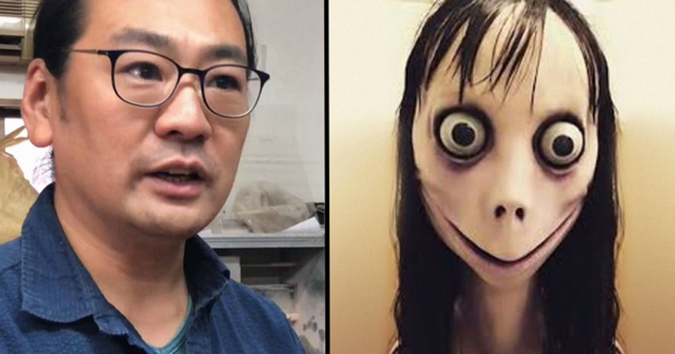 Man Who Created the Momo Doll Has Destroyed It