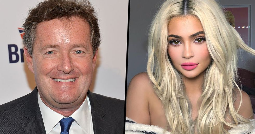 Piers Morgan Says Kylie Jenner Made Her Money From Kim's Sex Tape