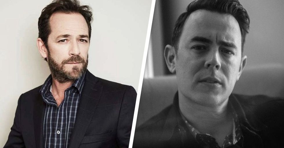 Colin Hanks Just Shared a Sweet Story About Luke Perry Breaking up a Fight on a Plane