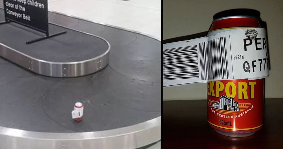 Guy Checks in Single Can of Beer After Airline Won't Let Him Fly With It