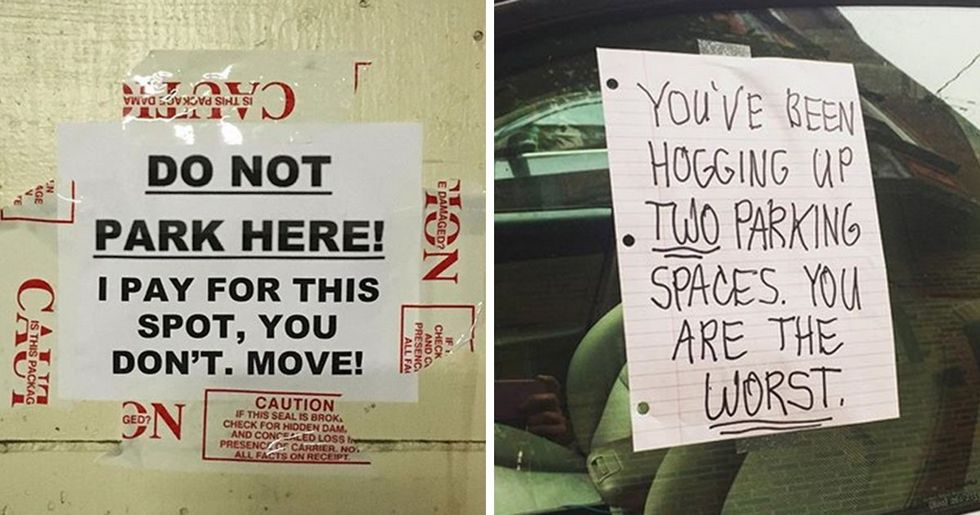 People Who Were So Angry They Just Had to Write a Note