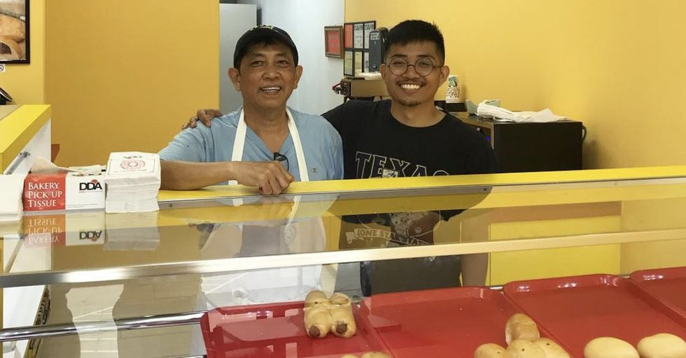 Doughnut Shop Owner's Son Tweeted About His Dad's Shop And People Showed Up