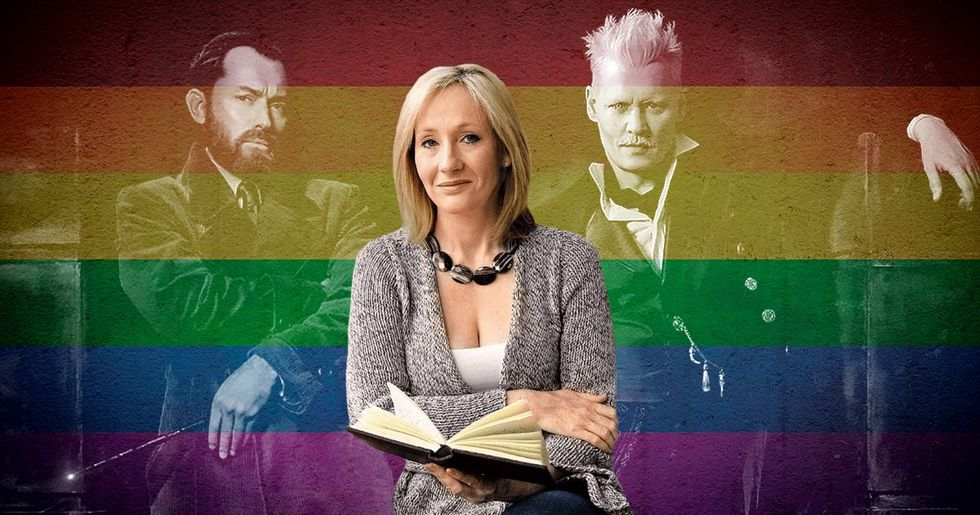 J.K. Rowling Say Her Characters Dumbledore and Grindelwald Had an 'Intense Sexual Relationship'