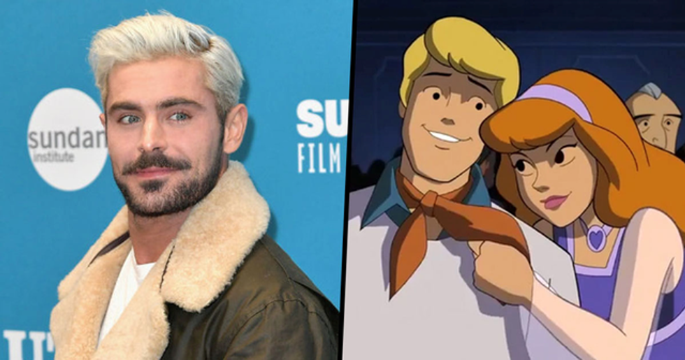 Zac Efron and Amanda Seyfried Will Star in a New 'Scooby-Doo' Movie