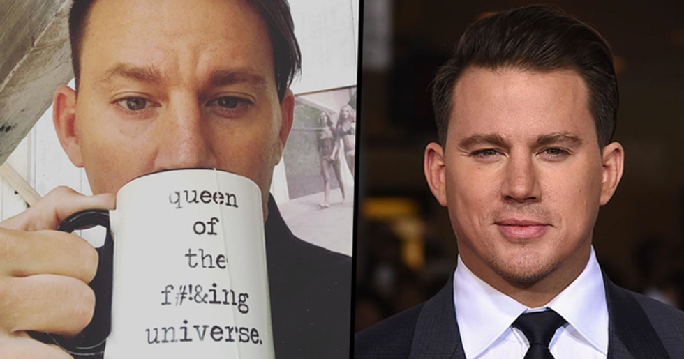 Channing Tatum Dyed His Hair Blonde and People Don't Know What to Think