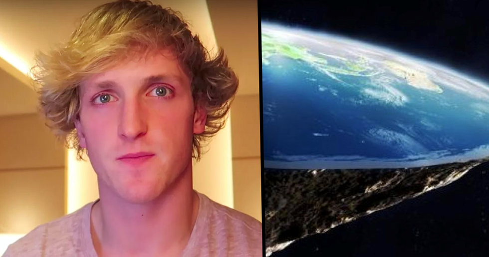 Logan Paul Says He'll Travel to Antarctica to Prove Earth Is Flat