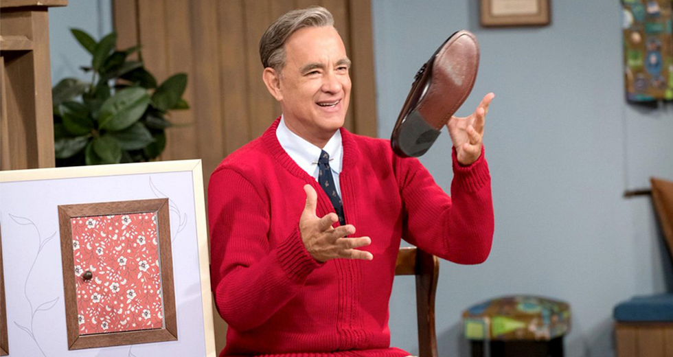 This Sweet Video of Tom Hanks as Mr. Rogers Will Make Your Day