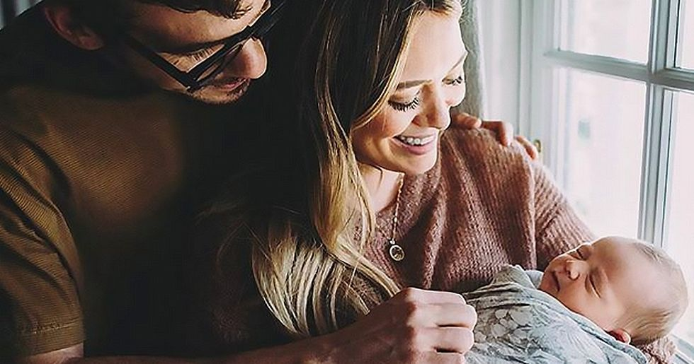 Hilary Duff Reveals Intimate Video of Her Home Water Birth
