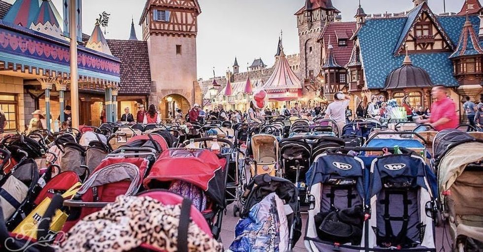 Disneyland and Disney World Just Banned Large Strollers From the Park