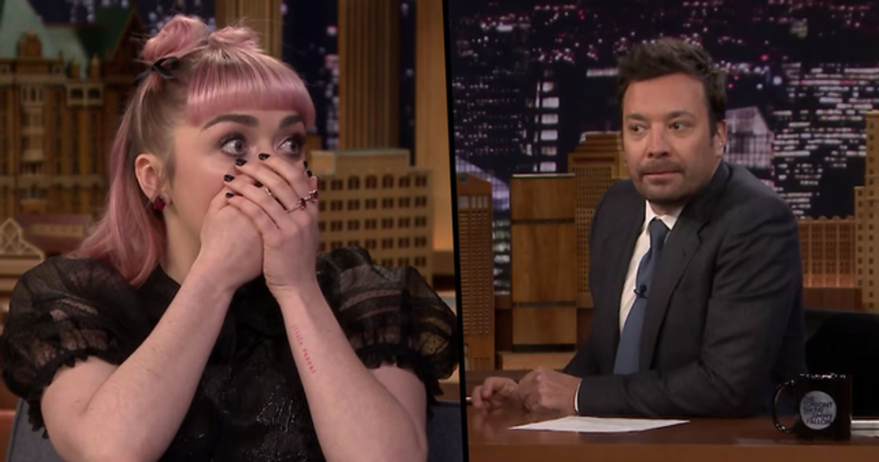 Maisie Williams Trolls Audience With Huge 'Game of Thrones' Spoiler