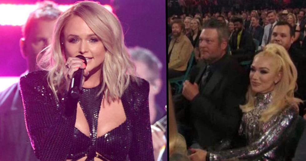 Miranda Lambert Savagely Shaded Blake Shelton Right in Front of His Face