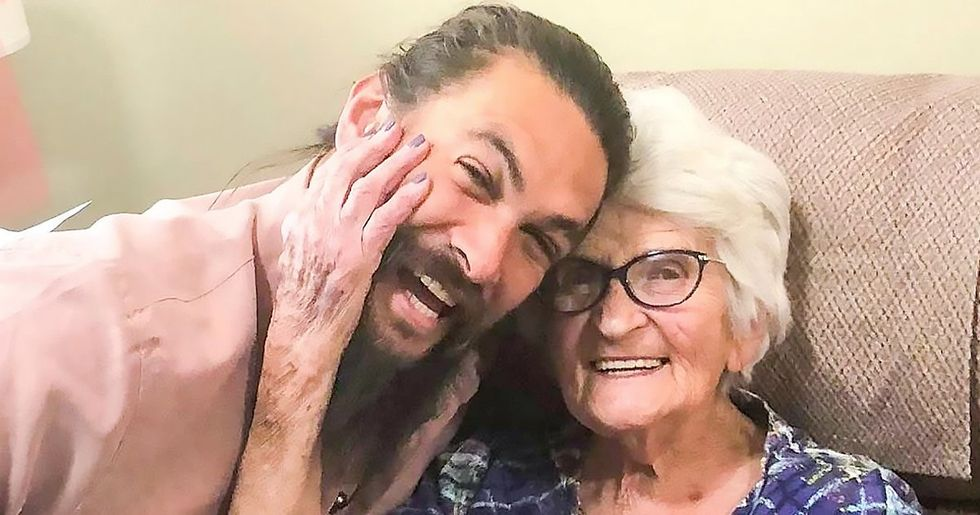 Jason Momoa and His Grandma Are so Insanely Cute