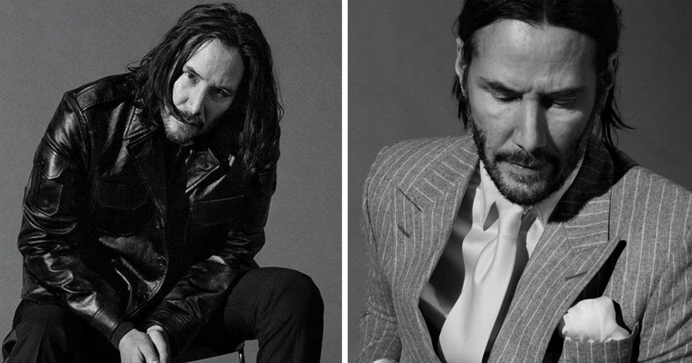 Keanu Reeves' GQ Photoshoot Is One Big Thirst Trap