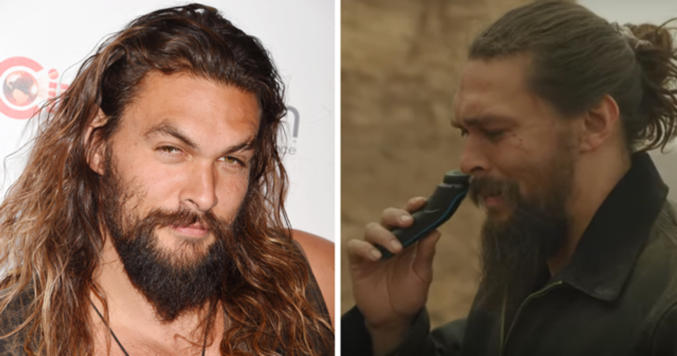 Jason Momoa Shaves for the First Time Since 2012 and Fans Are Distraught