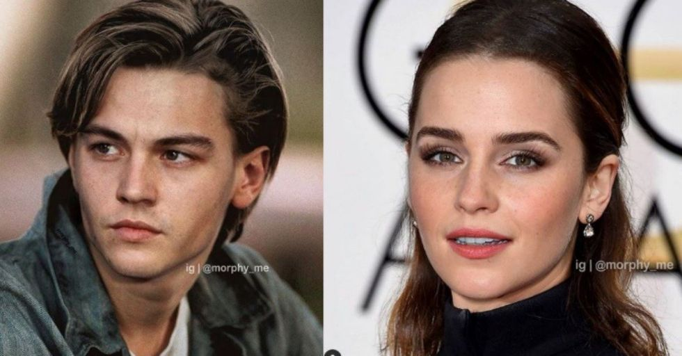 This Artist Morphs Two Celeb Faces Together and the Results Are Wild