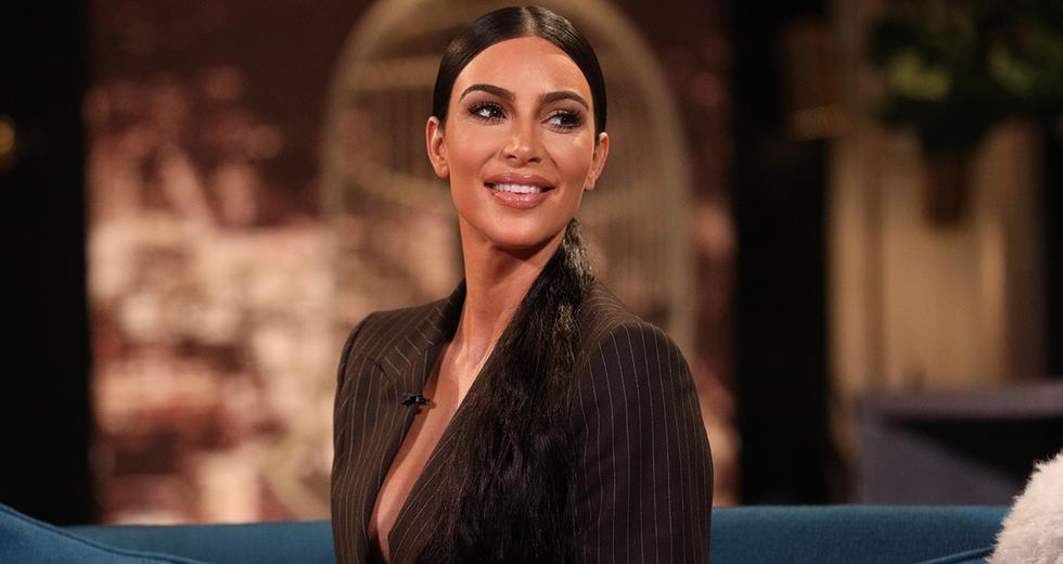 Kim Kardashian Had a CBD-Themed Baby Shower