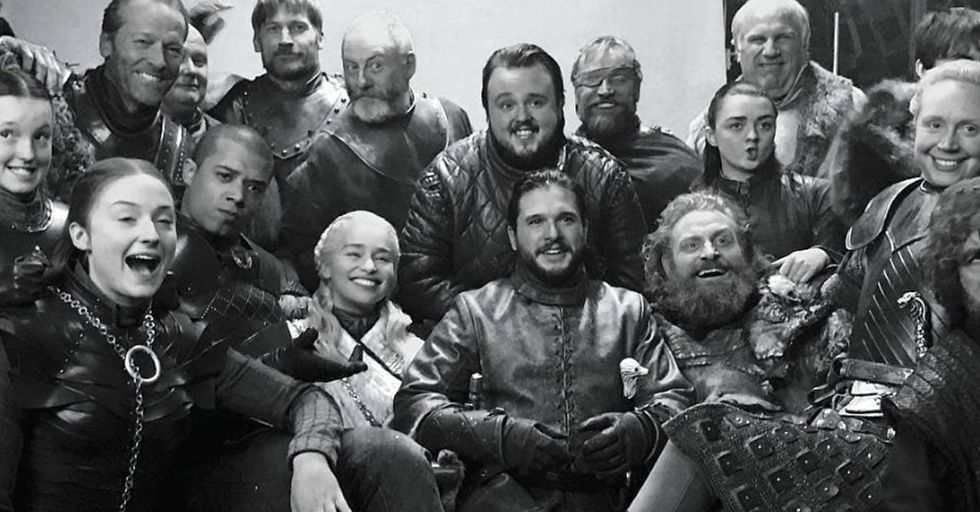 Photos of the 'Game of Thrones' Cast You've Never Seen Before