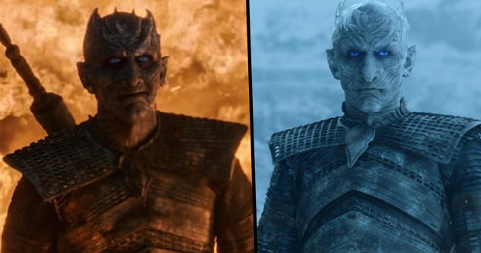 The Night King From 'Game of Thrones' Has Been Unmasked and People Are Falling in Love With Him