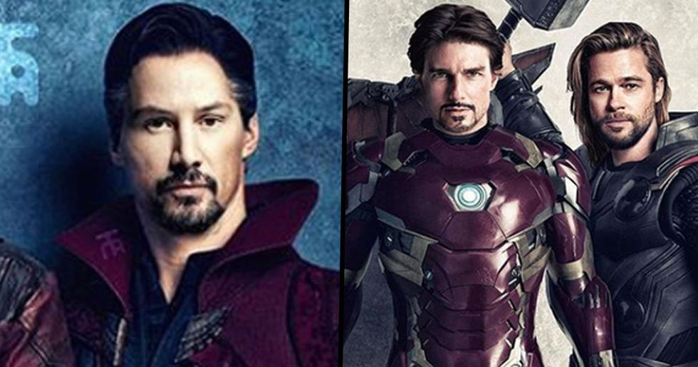 What The Avengers Would Look Like If They Were Cast In The '90s