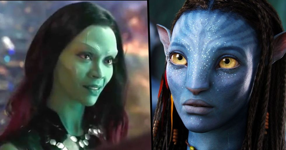 Zoe Saldana Stars in Three of the Five Films That Have Grossed Over $2 Billion
