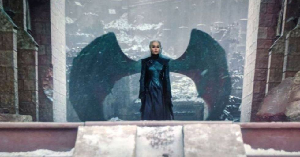 The Dark Meaning Behind Daenerys' Dragon Wings in Season Finale