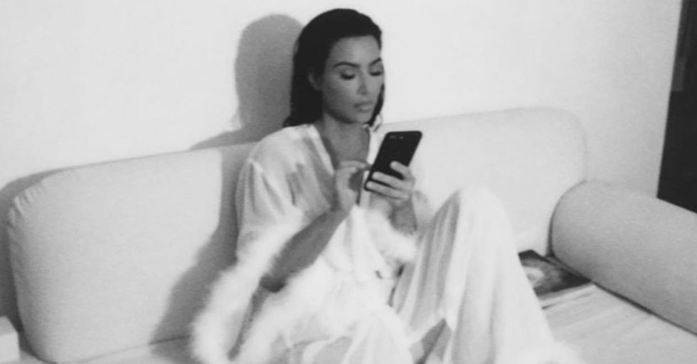 Kim Kardashian Has Some Mysterious Online Beef With Jack-In-The-Box