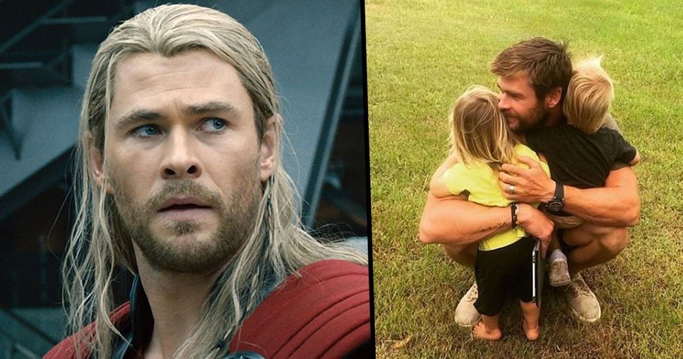 Chris Hemsworth Announces He's Quitting Hollywood to Spend More Time with His Family