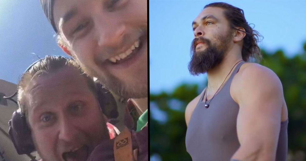 Jason Momoa Sends Brutal Message to Fishermen Who Cut off Shark's Tail for Fun