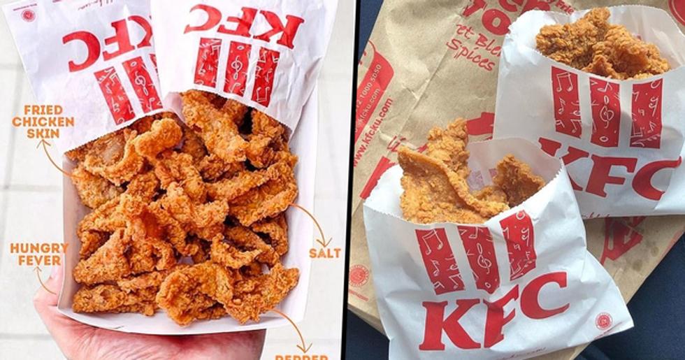 KFC Is Now Selling Bags of Crispy Fried Chicken Skin