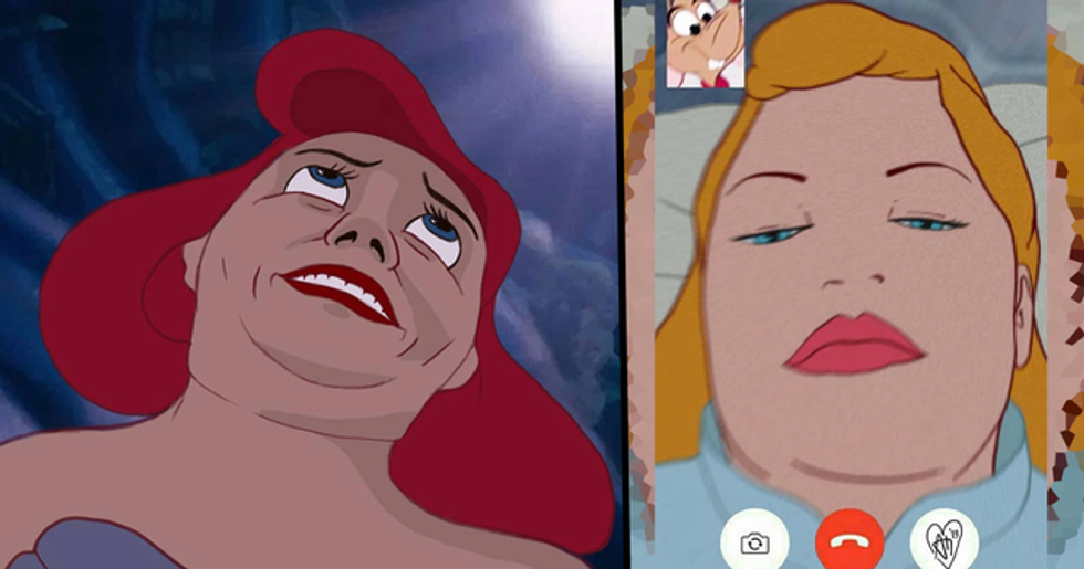 Artist Creates 'Realistic Disney Princesses' and the Pictures Are Amazing