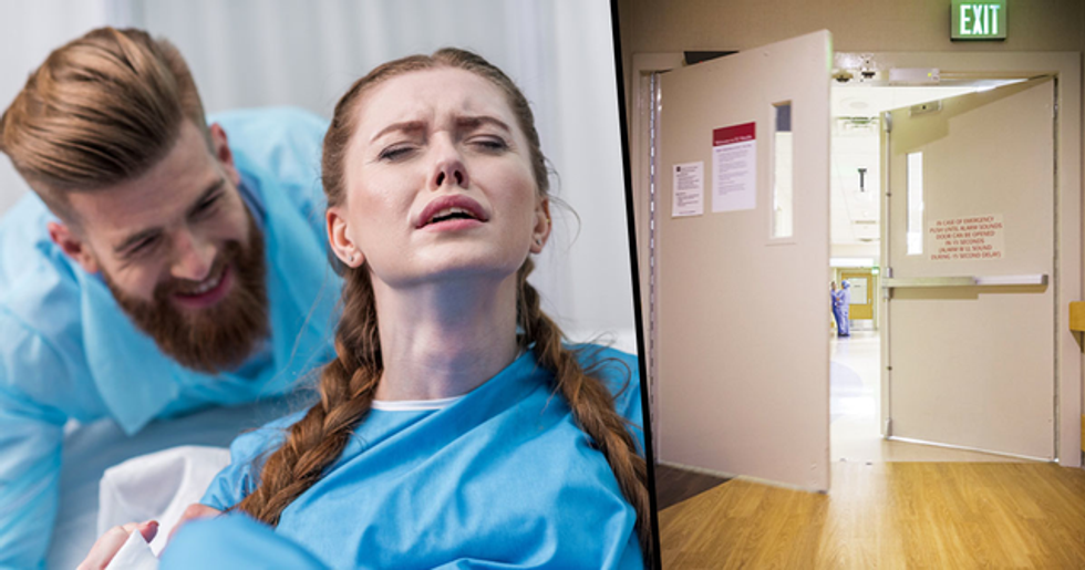 Dad Gets Kicked Out of Delivery Room for Making 'Sick Joke' While Wife Gives Birth