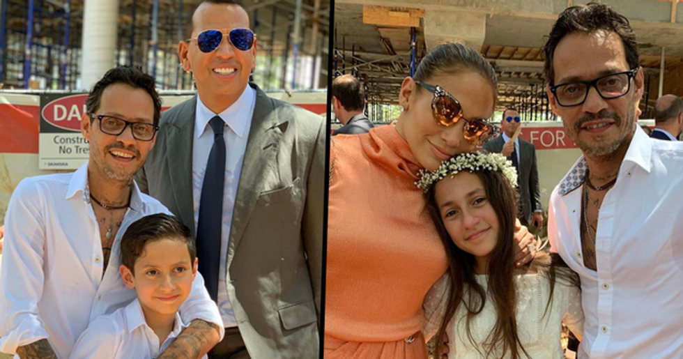 J Lo Wrote Marc Anthony a Beautiful Father's Day Note, but ARod's Comment Stole the Show