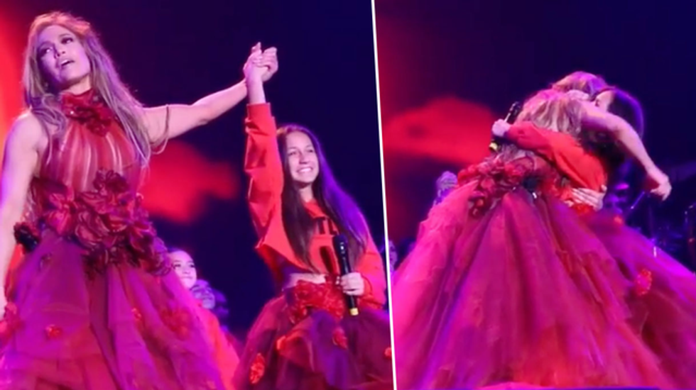 Jennifer Lopez Brings Daughter Onstage for Stunning Duet on First Night of Tour