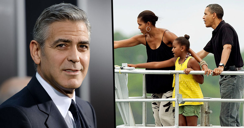 The Obamas Are Vacationing at George Clooney's Villa and People Can't Come Within 300 Feet