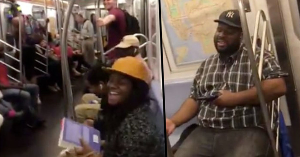 Entire New York Subway Car Spontaneously Started Singing Backstreet Boys Together