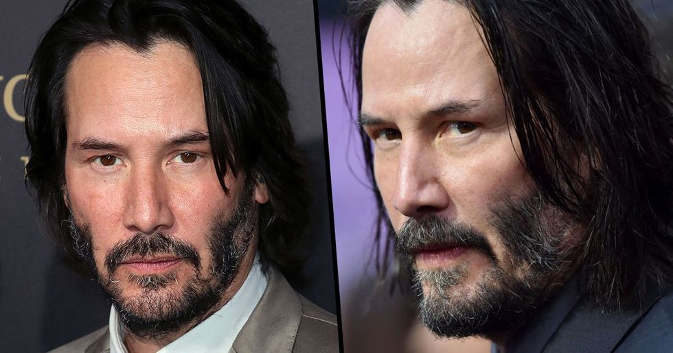 Keanu Reeves Has Shaven His Beard off for 'Bill and Ted 3'