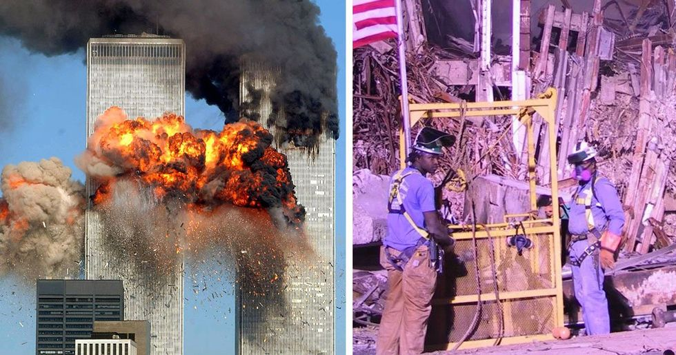 Haunting Never-Before-Seen Pictures of 9/11 Found on CD During House Clearance
