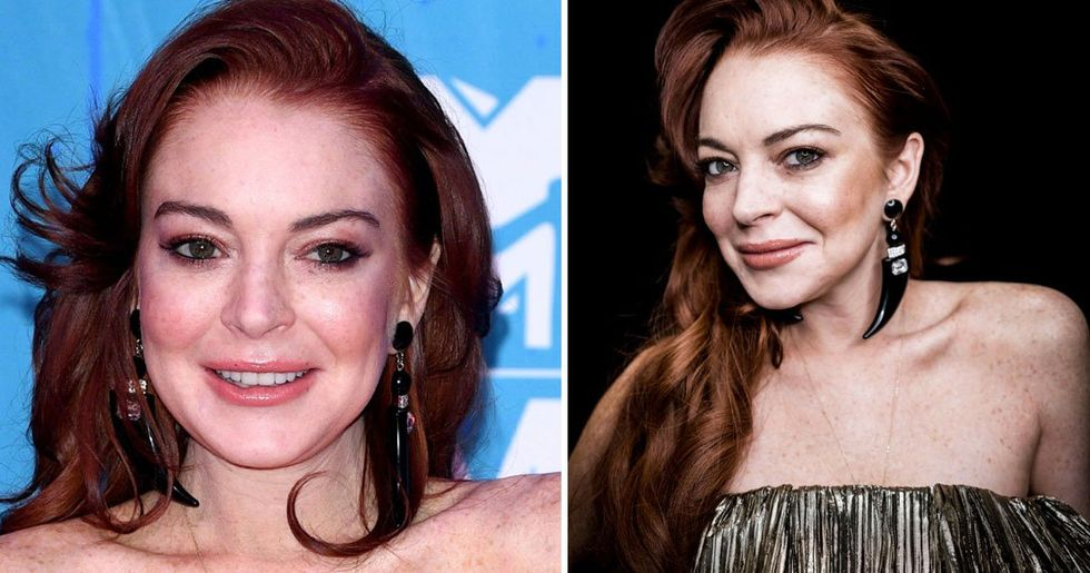Lindsay Lohan Posts Fully Naked Picture on Instagram for Her Birthday